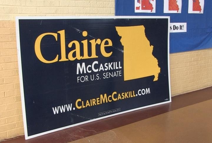 Campaign sign.