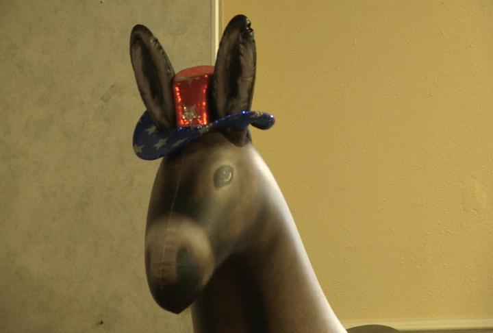 Campaign donkey.
