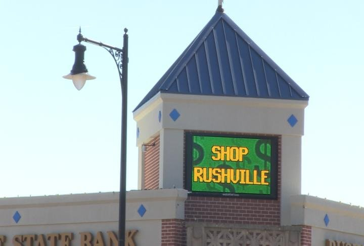 Rushville, Illinois.
