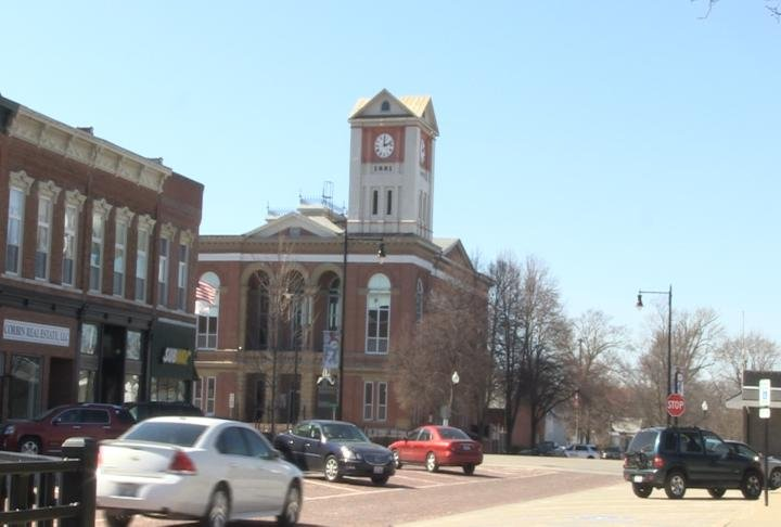 Rushville town square.
