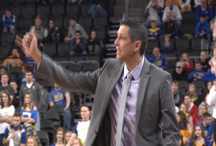 WIU's Summit League Tournament title hopes came to an end in a loss to SDSU.