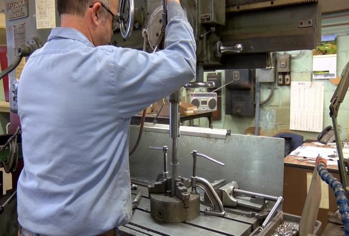 Awerkamp Machine Company in Quincy buys around half a million pounds of steel and other metals each year.