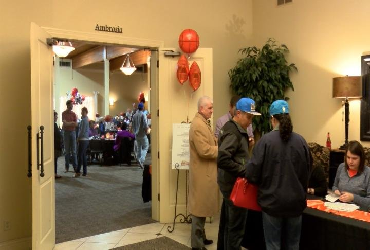 The fundraising event was held at The Ambiance in Quincy.