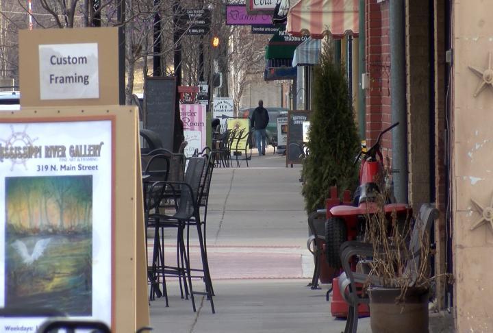 Main Street in Downtown Hannibal.