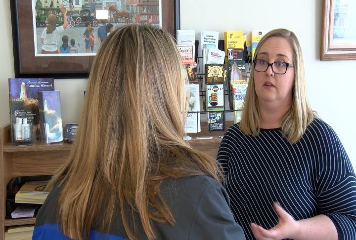 McKenzie Disselhorst with the Hannibal Area Chamber of Commerce talks with WGEM's Kaylee Pfeiferling.