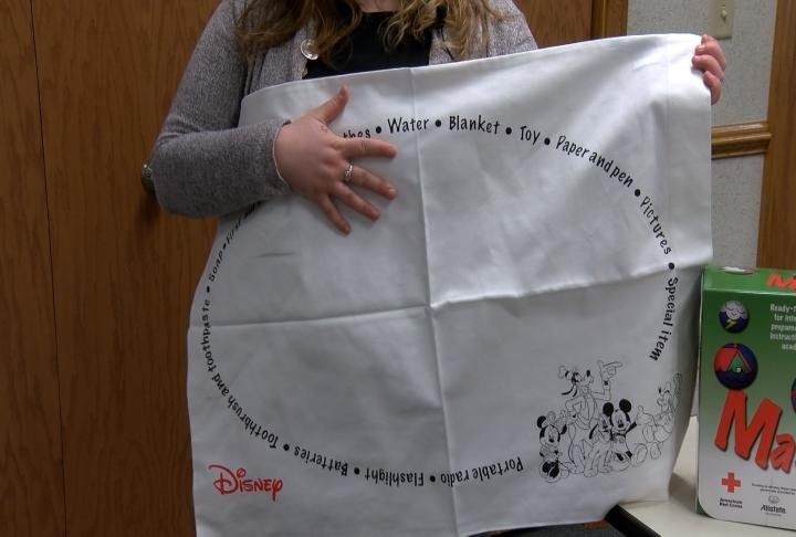The Pillowcase Project is class that is offered. It teaches what kids need to have during a disaster.