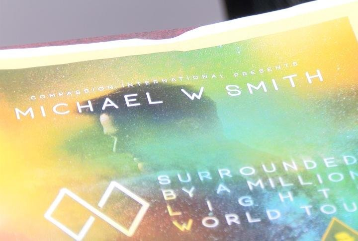 Michael W. Smith will be in concert this Sunday.