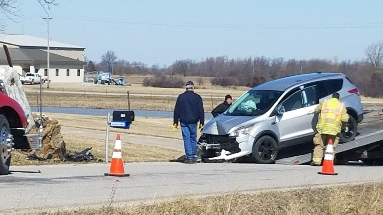 Accident near Hannibal airport