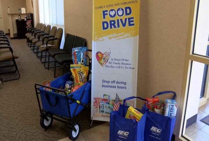 International Eyecare Center is hosting a Food Drive at their locations across the Tri-States.
