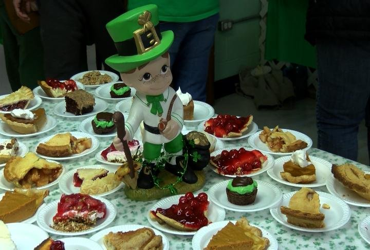 Dessert display at the Shrine of St. Patrick.