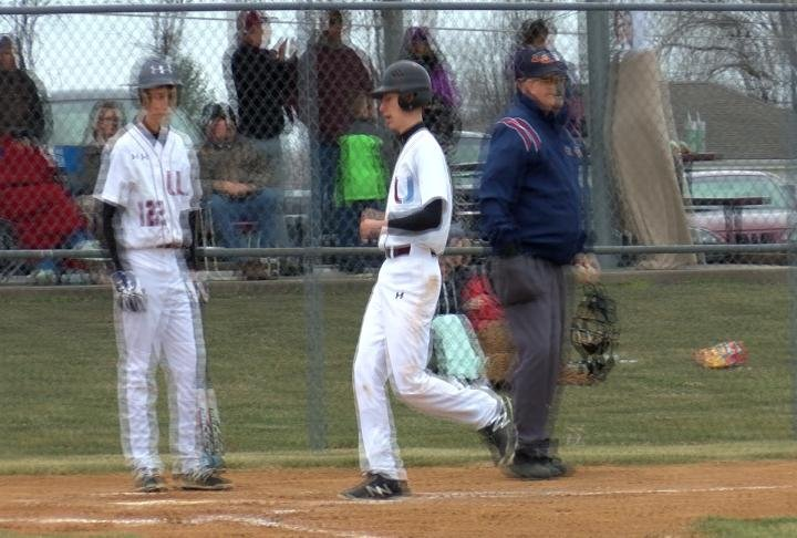 Logan Voth homered and drove in three runs in Unity's victory over Monroe City.