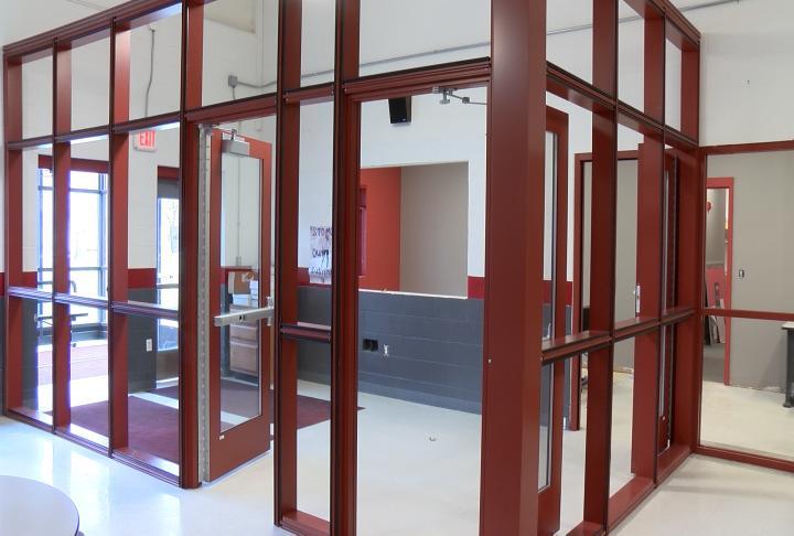 Schools are getting new vestibules.