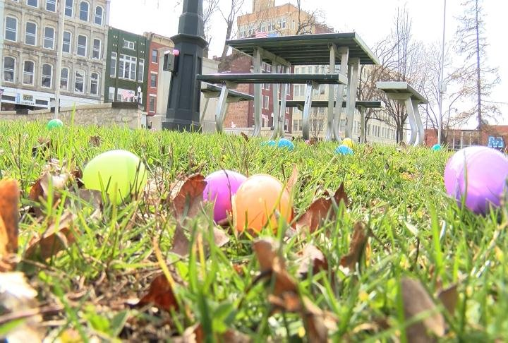 Eggs in Washington Park