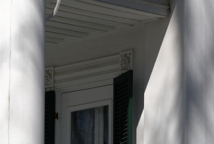 The Historical Society said the will use the money to help re-paint the mansion.