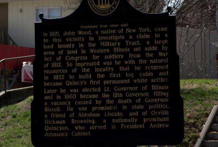 A grant will help preserve the John Wood Mansion.