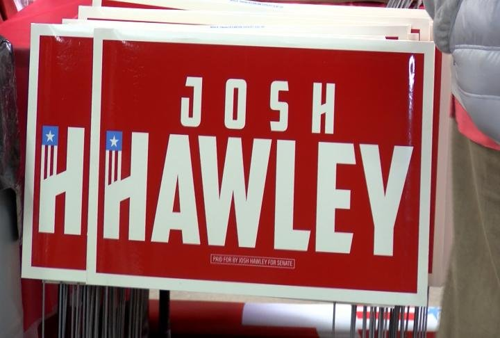 Attorney General Josh Hawley was in Hannibal on Thursday for his senate campaign kickoff tour.