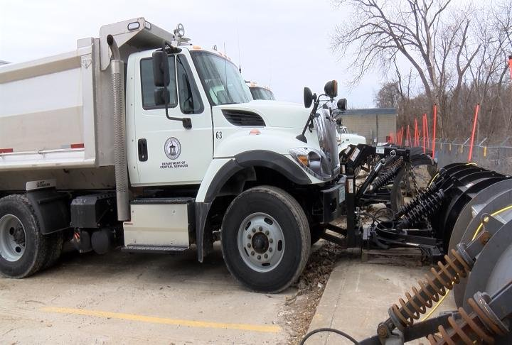 Quincy Central Services said their trucks are ready if Quincy sees snow on the weekend.