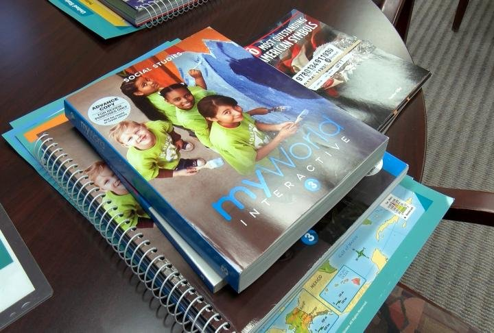 The textbooks are going to be used in a pilot program.