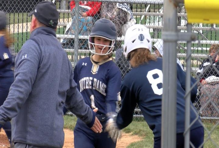 QND combined to score 15 runs in the third and fourth innings in a victory over Pittsfield.