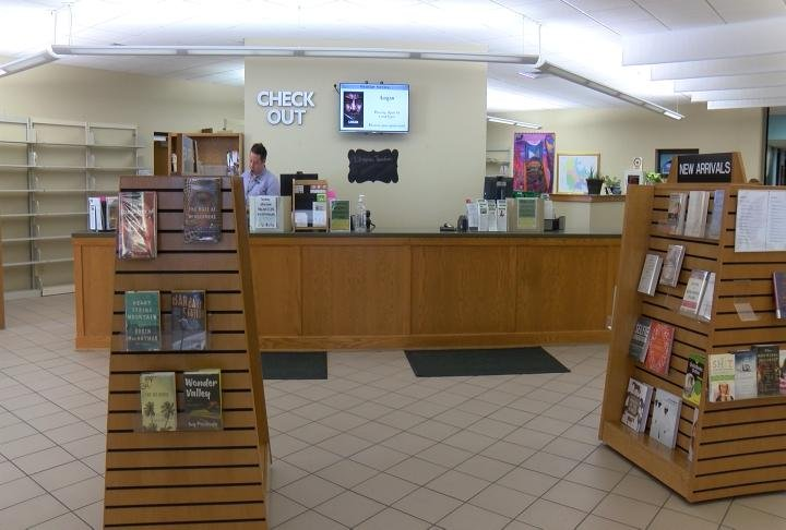 The elimination of staff would result in shorter hours of operation at the library.