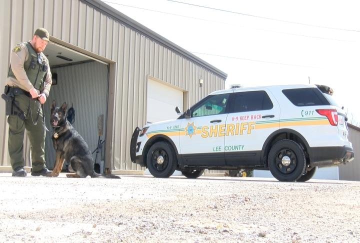 Deputy Wheatley and K-9 Gunner have been hard at work.