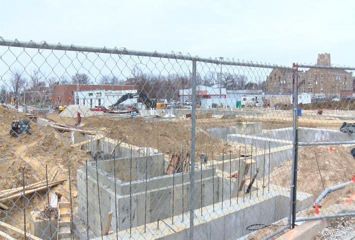 Blick's Construction is suing the county for $117,000.