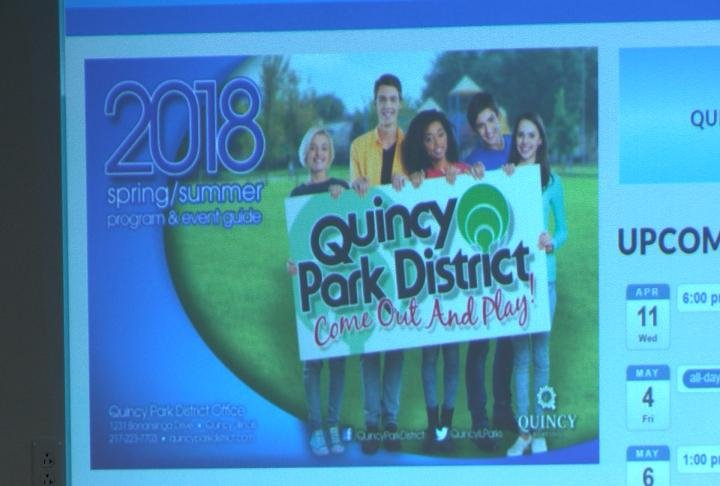 The Park District unveiled its new website on Wednesday.