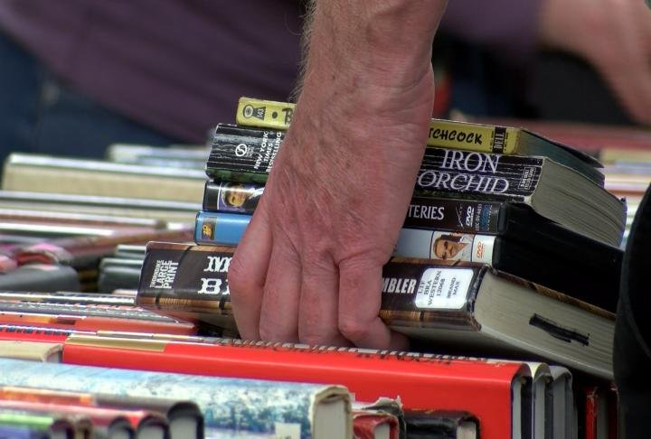 Quincy Public Library is hosting their semi-annual book sale.