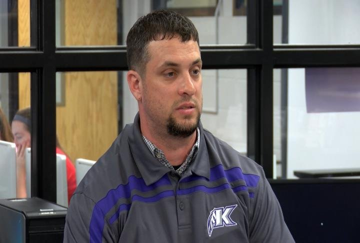 Quentin Hamner was introduced as Keokuk's new football coach on Friday.