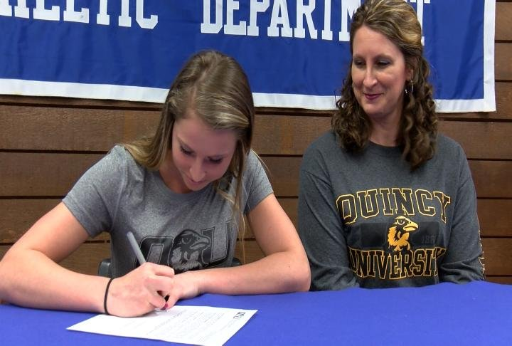 Quincy's Hannah Maguire is taking her talent on the links to Quincy University.