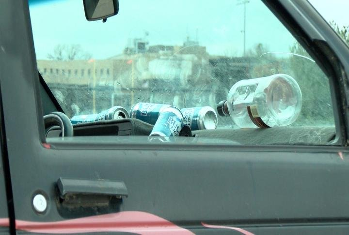 High school students are shown what could happen when driving under the influence.