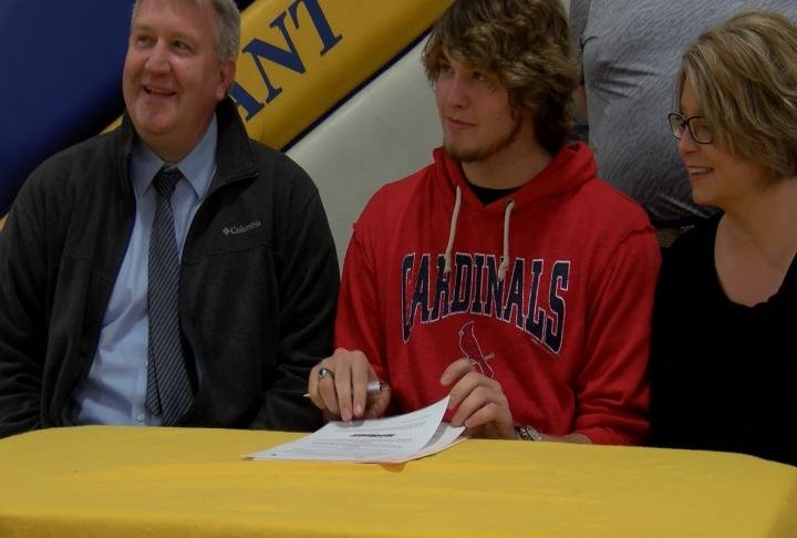 Pleasant Hill's Grant Peebles is the newest member of the MacMurray College football program.