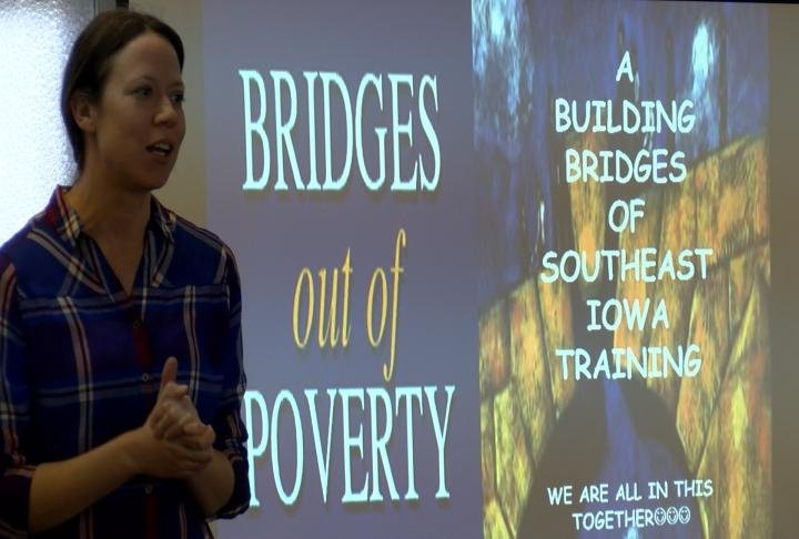 Bridges out of Poverty event in Keokuk at First Lutheran Church.
