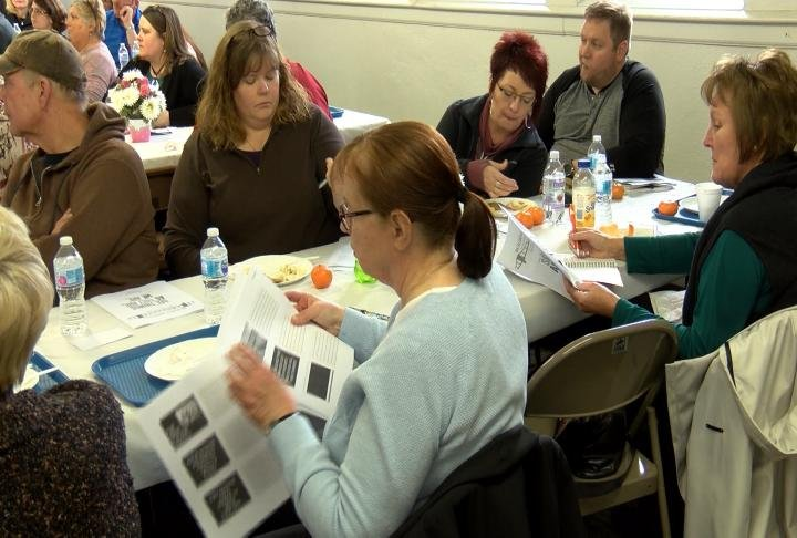 Community members from teachers, small business owners, and economic leaders attended Tuesday night.