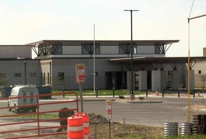 Iles Elementary is nearing completion.
