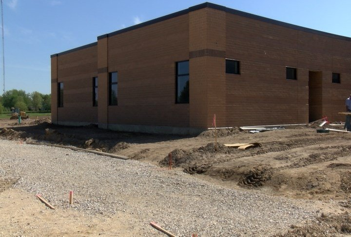 Construction at Rooney Elementary.