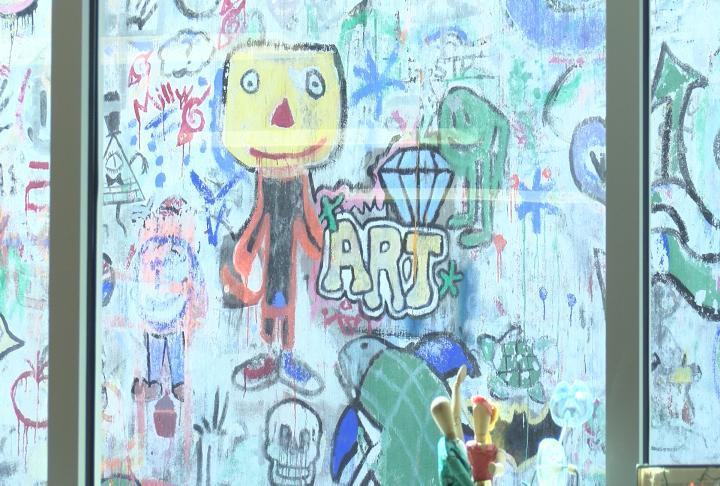 Art is becoming more popular in the school.