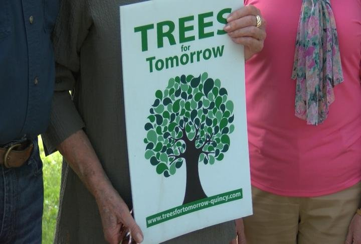 The donation will fund an additional 130 trees to be planted at the park.