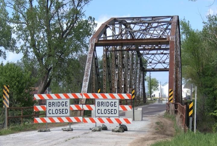 The bridge closed in November.