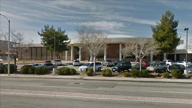 Highland High School in Palmdale, California (Photo: Google Earth)
