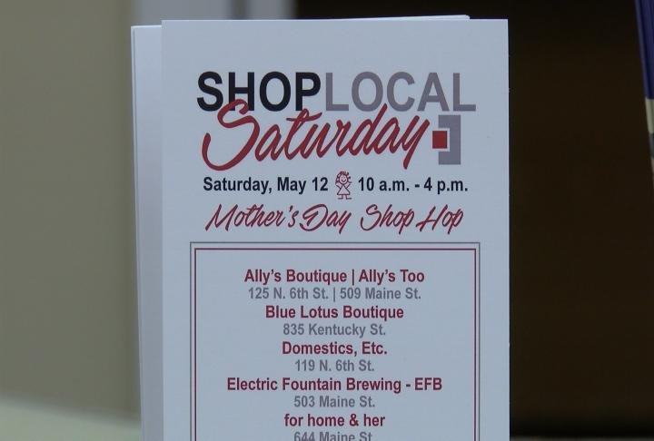 The District is encouraging residents to shop local for Mother's Day.