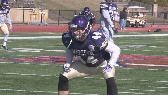 Former Macomb and WIU linebacker Brett Taylor will leave Saturday for off-season training with the Minnesota Vikings.