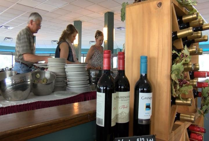 The Pier in Quincy had around 400 people come through the door for Mother's Day brunch.