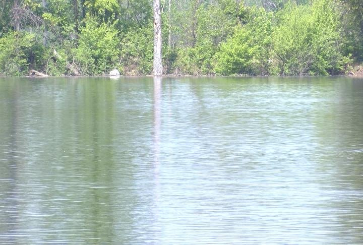 The Army Corps of Engineers predict the river to crest on Tuesday at 20 feet.