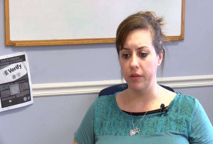Residential Coordinator Rosemary Trinkle.