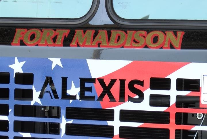 Alexis Fire Equipment in Illinois made the truck.