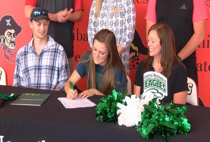 Hannibal's Grace McIntosh is off to Central Methodist to continue her soccer and dance career.