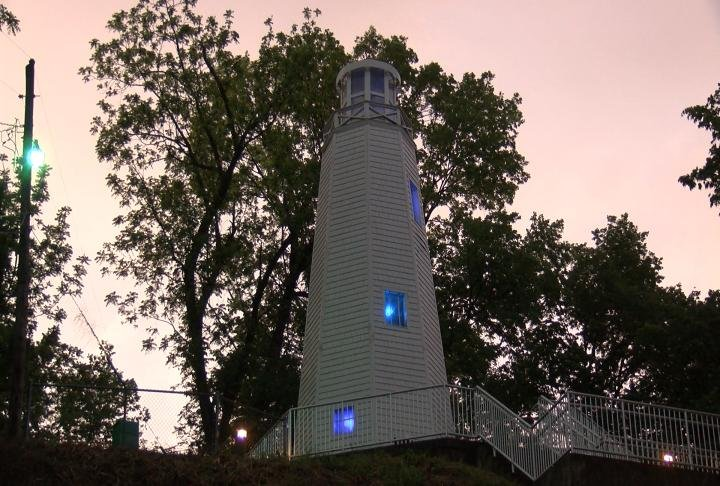 The lighthouse will be torn down and rebuilt.