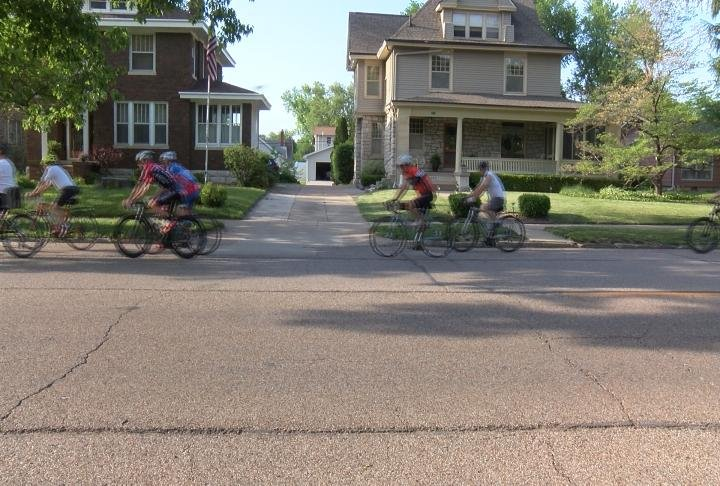 The ride also serves as a reminder to motorists to look out for cyclists as the weather gets warmer.