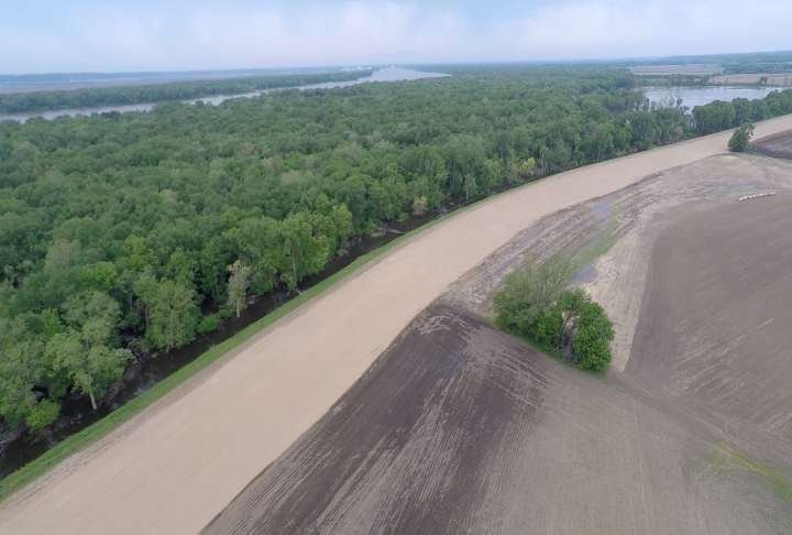 Sny Levee along the Adams/Pike County line.